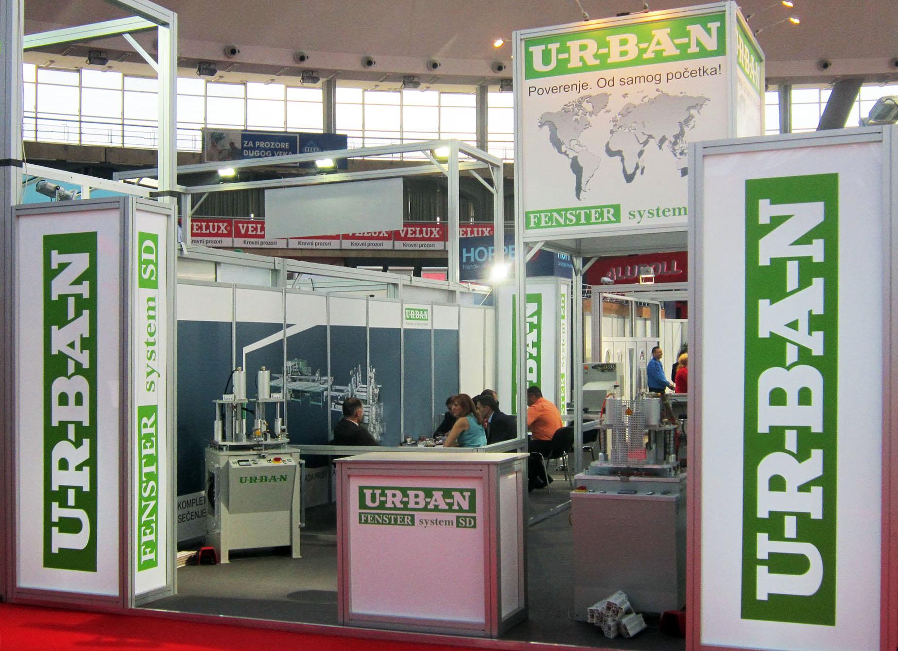 fenster sistem urban mašine